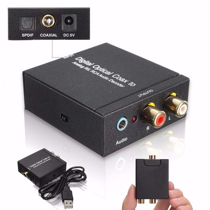 NK-Y2 Digital SPDIF Optical Coax to Analog RCA R/L DTS2 1
