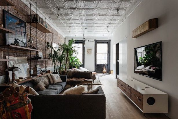 Industrial Design Done Right New York Loft Industrial Home
