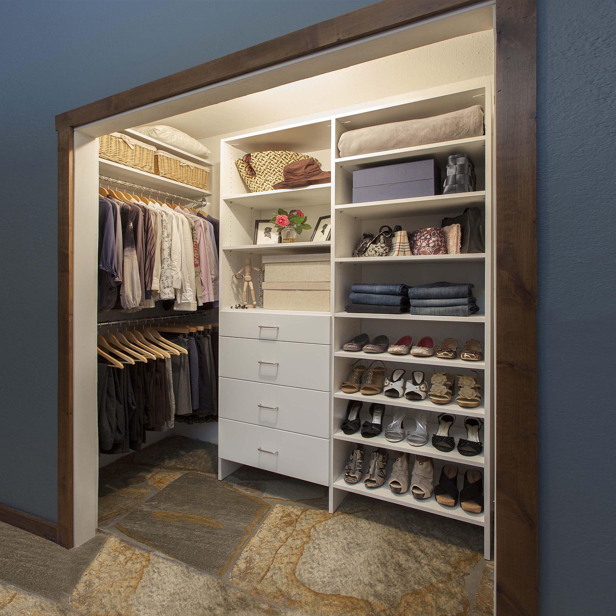 Reach In Closet Solutions From Nova Closet Call Us Novacloset