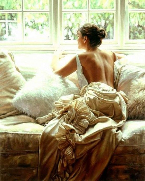 Rob Hefferan – Peinture à L'huile Et Les Belles Filles Robhefferan, Dress, Wedding | Modern Art Movements To Inspire Your Design
