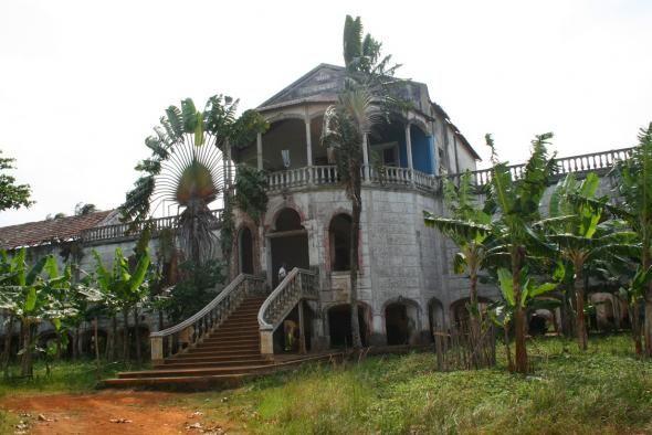 Hospital Da Roca De Agua Ize Sao Tome Lugares Bonitos Sao