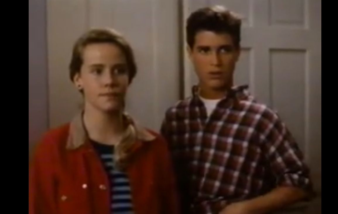 Amanda Peterson Photos amanda peterson and trey ames screenshot from a year in the
