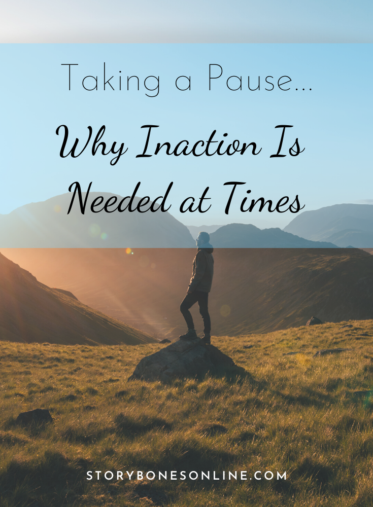 Life  is cyclical not linear, it moves in ebbs and flows. There are times when we are called to PAUSE, to choose to rest in stillness in order to find clarity. Here I share some insights into why I am choosing to take some time out and practice the Taoist philosophy of '