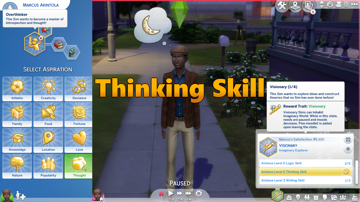 Triplis Mods For The Sims 4 Sims Thinking Skills Sims 4