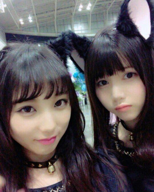 「与田祐希と伊藤理々杏」の画像検索結果