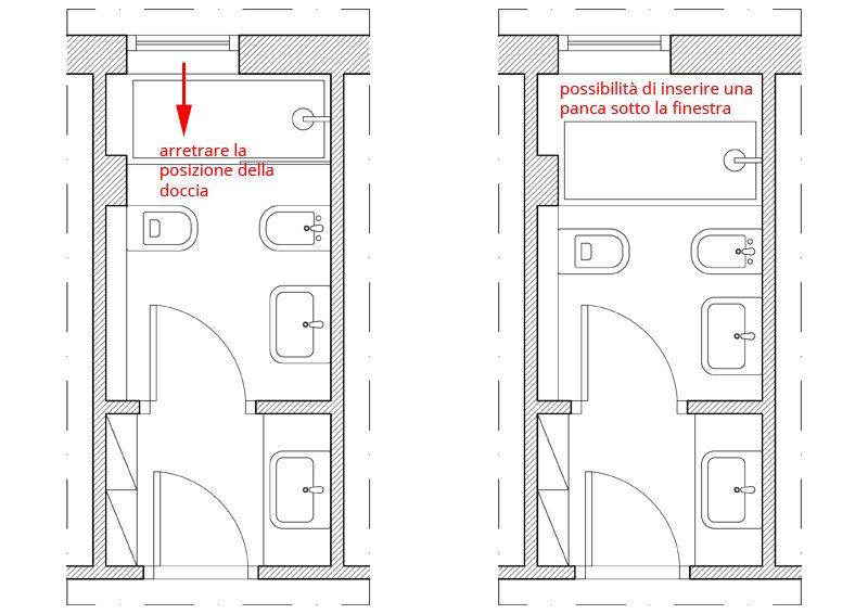Finestra nella doccia problemi idee soluzioni bagno for Finestra nella dacia