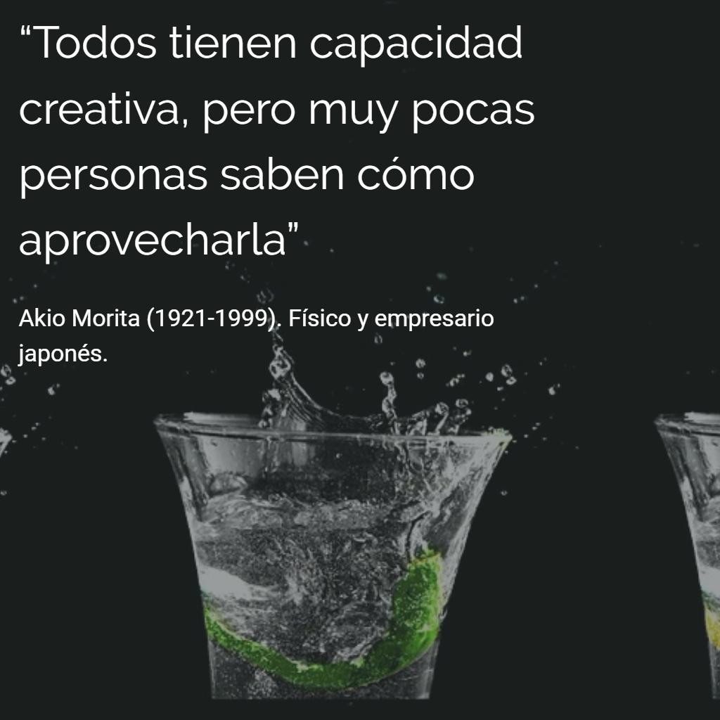 Akio Morita 1921 1999 Físico Y Empresario Japonés Citas