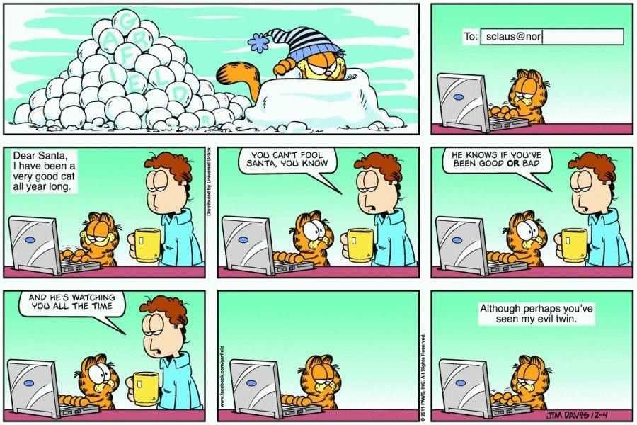 garfield comic strip template  December 7th, 7 | Comic strips, Fun comics, Comic strip ...