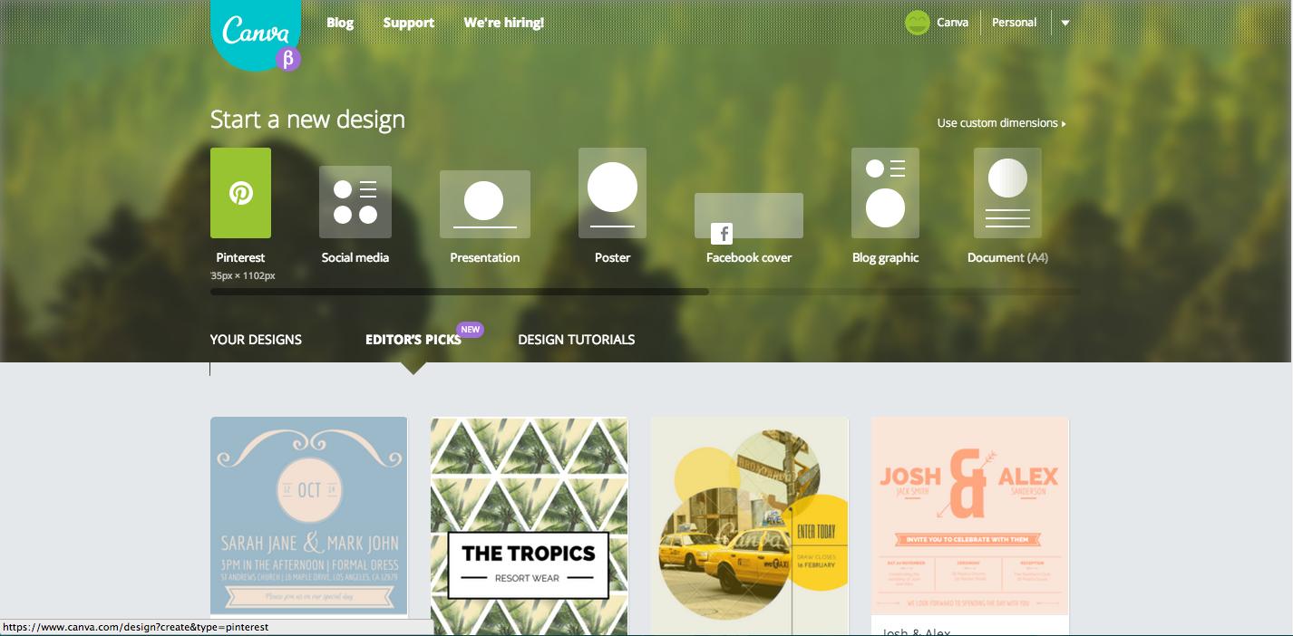 How Do I Design a Pinterest Graphic? Canva Web
