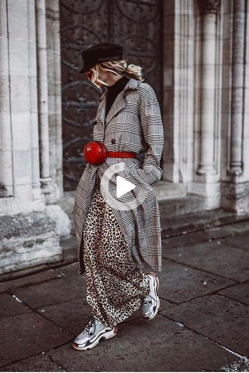 Estas fueron las tendencias de street style de la Semana de la Moda de Milán 2018 Source by modaporalura style edgy party