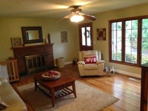 Wohnzimmer renovieren ~ Altes wohnzimmer renovieren mit lösen von der alten tapete relax