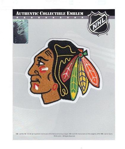 2b30f11680f Chicago Blackhawks Patch Indian Head Logo-National Emblem