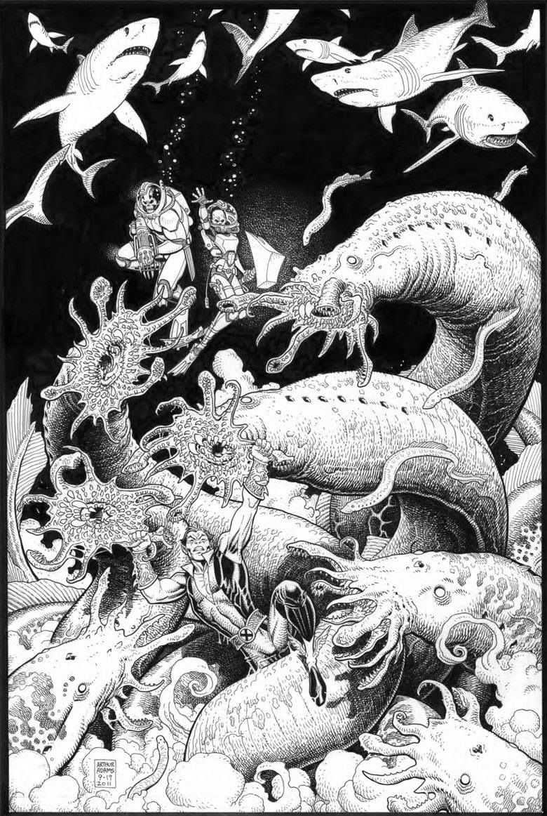 Covers | Arthur Adams