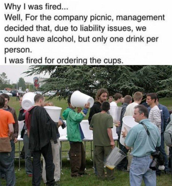 great moments in getting fired
