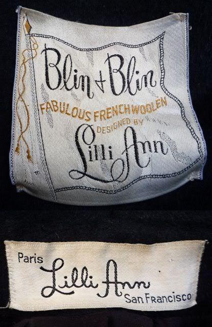 Lilli Ann Designer Of Exquisite Women S Suits Coats Lillies Fashion Labels Vintage Labels