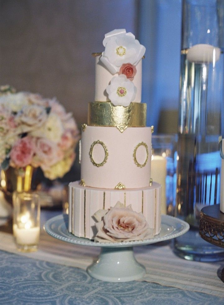 wedding cake idea; photo: Caroline Tran