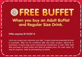 free buffet cicis pizza coupons expires 9102014 httpanncoupons