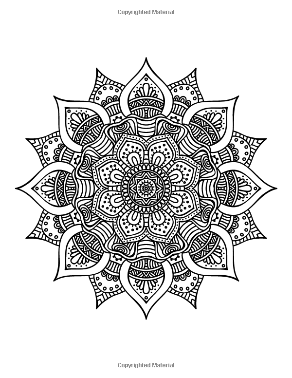 The Worlds Best Mandala Coloring Book A Stress Management For Adults 1