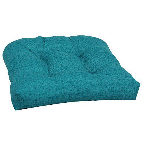 Brentwood Originals 35406 IndoorOutdoor Chair Cushion Turquoise    Click  For Special Deals #IndoorGardening