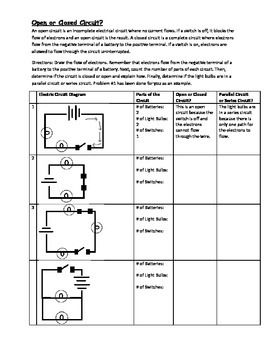in this 8 problem activity students draw the flow of electrons on rh pinterest co uk circuit diagram activity circuit diagram activity