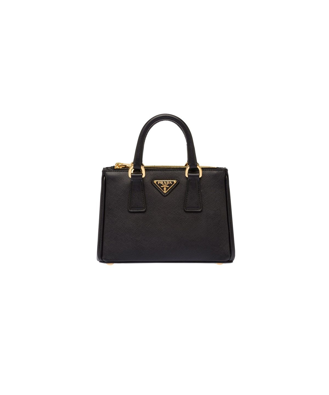 5c60fc64f161 ... discount code for prada saffiano leather mini handbag black. prada bags  shoulder bags hand bags