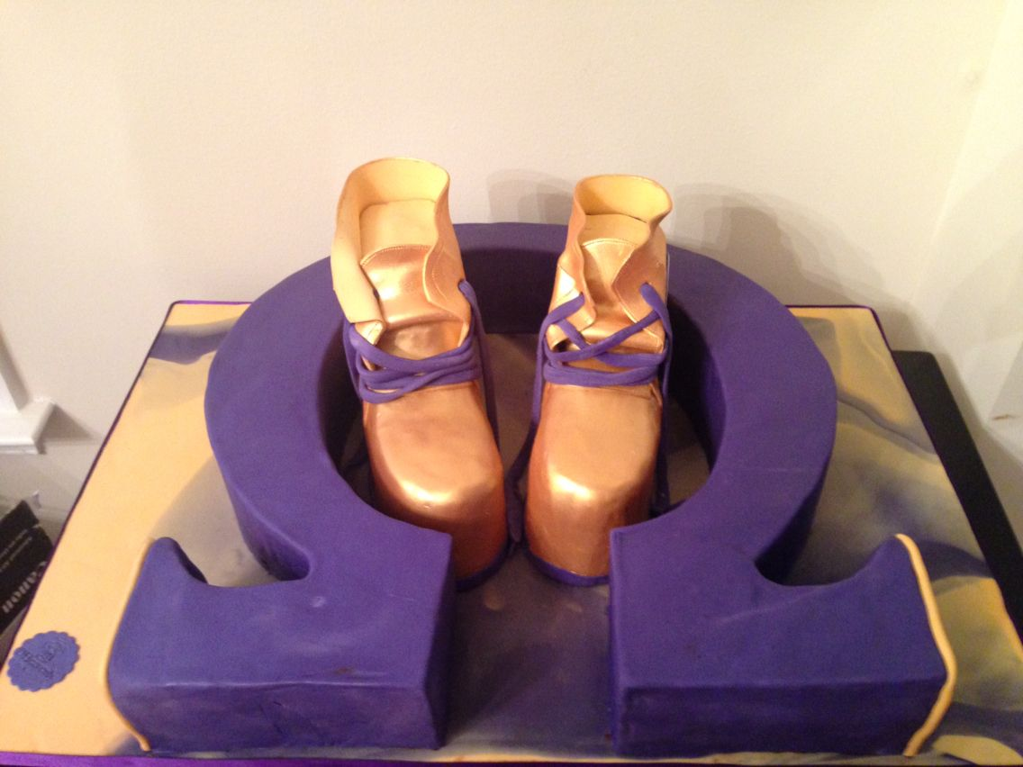 Omega psi phi birthday cake all cake symbol and gold boots greek omega psi phi birthday cake all cake symbol and gold boots buycottarizona Image collections