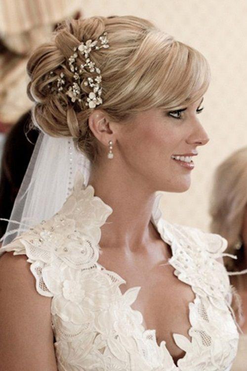 Marvelous 1000 Images About Wedding Hairstyles On Pinterest Veils Updo Short Hairstyles For Black Women Fulllsitofus
