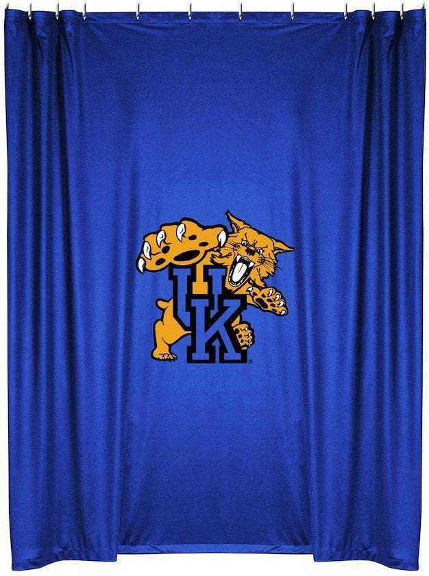 Championship Kentucky Wildcats Shower Curtain