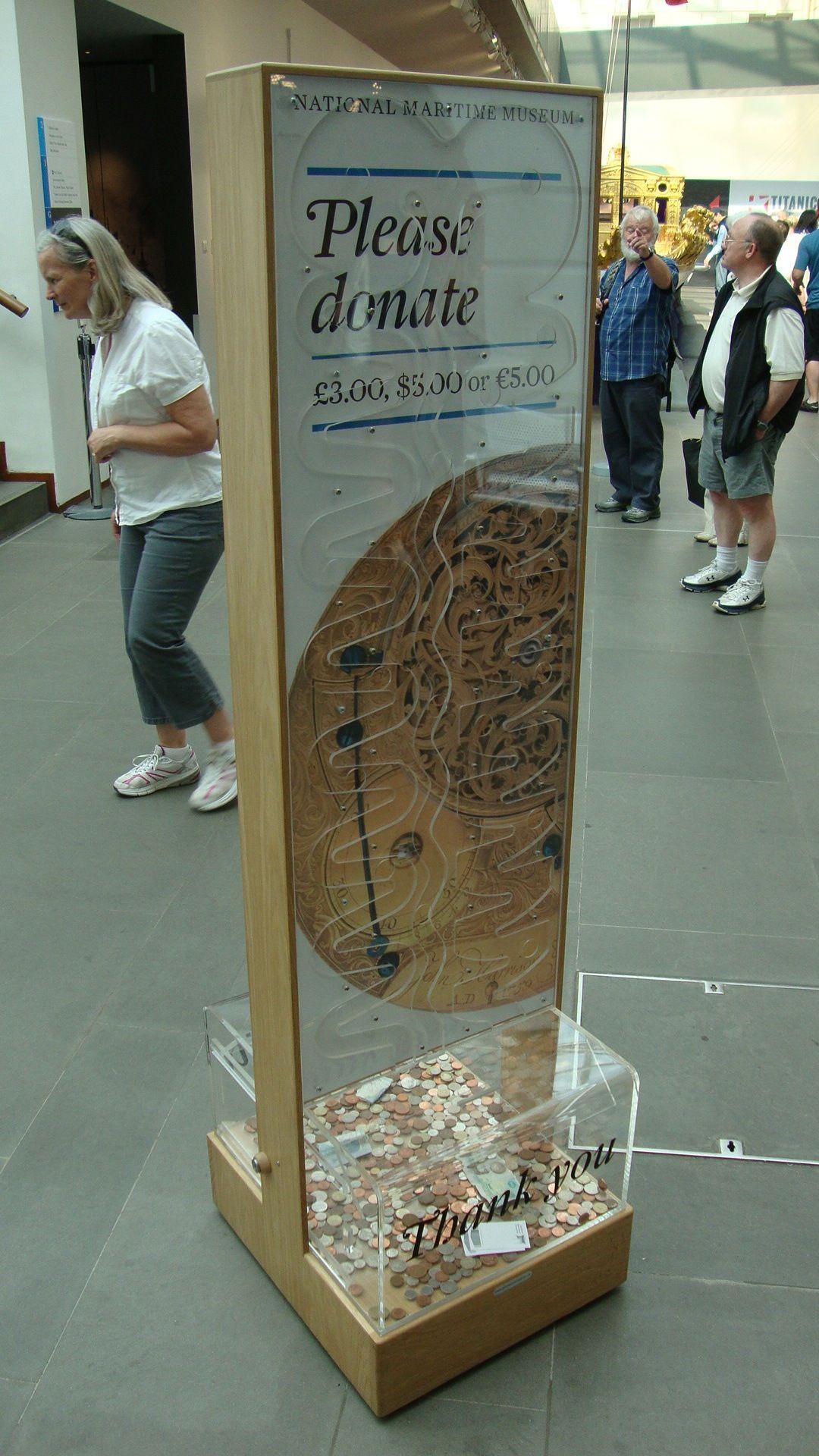 national maritime museum donation box | ideas para el centro