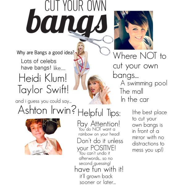 how to cut your own bangs - Google Search