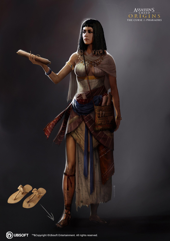 Artstation Merchant Woman Satanasov Assassins Creed Origins Assassins Creed Assassins Creed Art