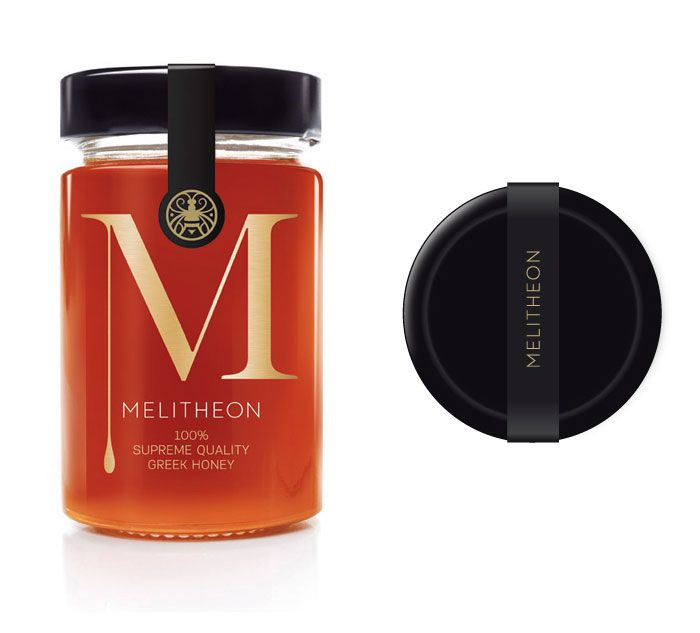 Melitheon Honey - from The Dieline