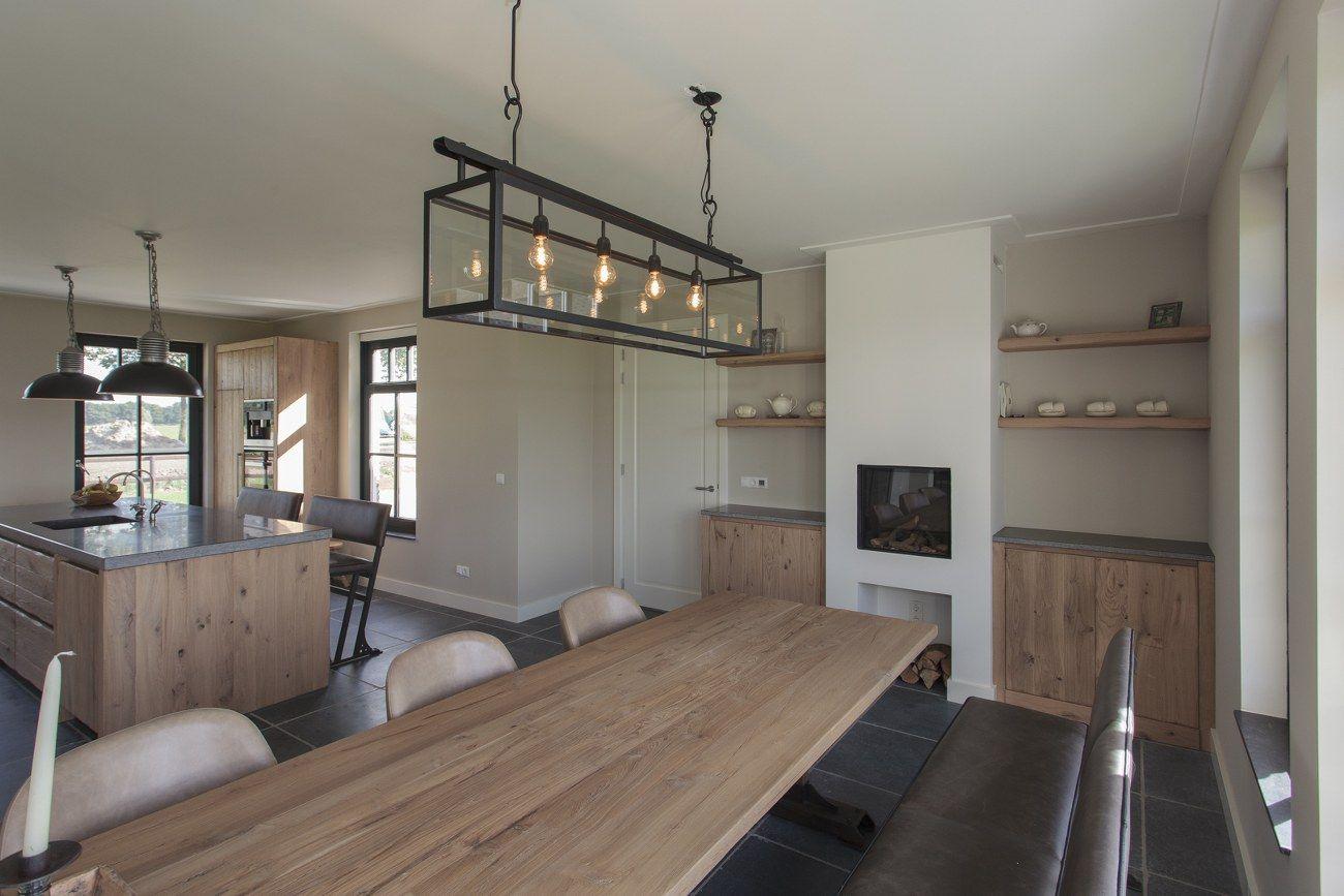 Thijs van de wouw keukens houten keuken in stijl keukens met