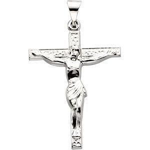 14kt white gold crucifix pendant 211 grams jewelry series 14kt white gold crucifix pendant 211 grams jewelry series r41571 aloadofball Image collections