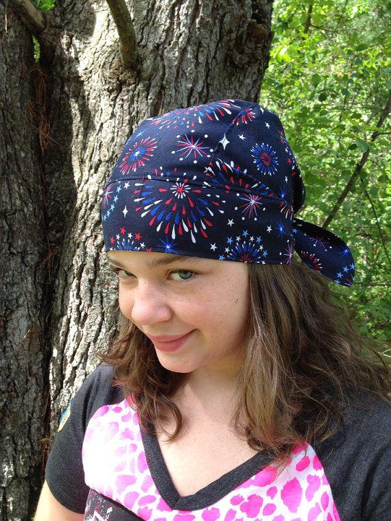 Doo rag biker hat skull cap bandana head wrap by ...
