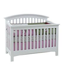 Baby Cache Essentials Curved Lifetime Crib White Baby Cache Baby Cribs Cribs