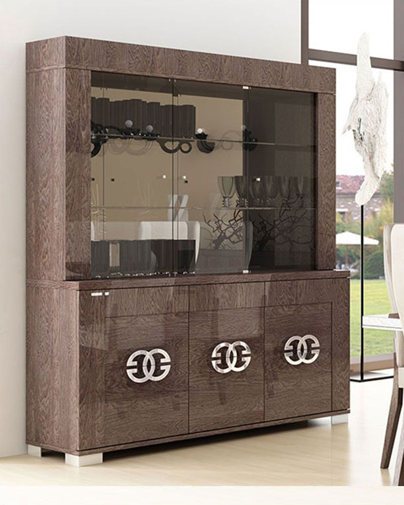 Contemporary China Cabinet 33D505 | Dining room cabinet ...