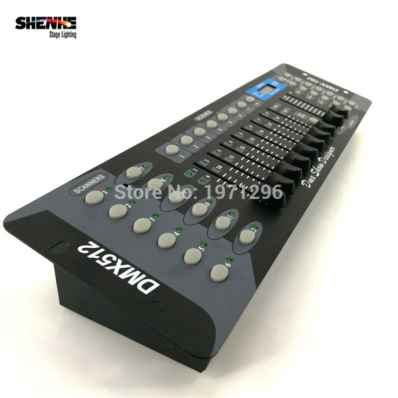 Free 배송 새로운 192 dmx 컨트롤러 dj 장비 dmx 512 콘솔 무대 조명 led 파 이동 헤드 스포트 라이트 dj Controlle