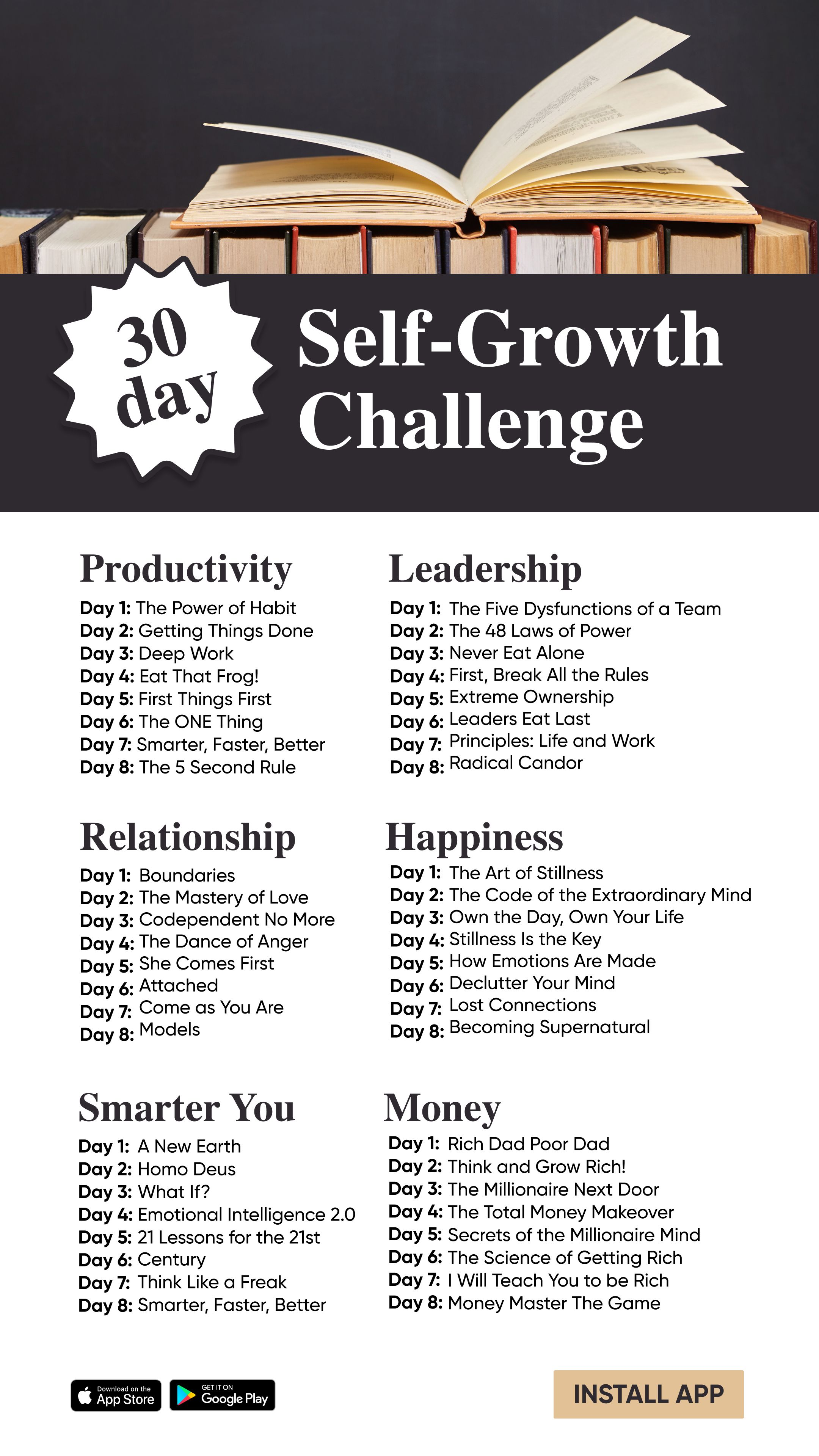 Boost personal growth getting things done personal