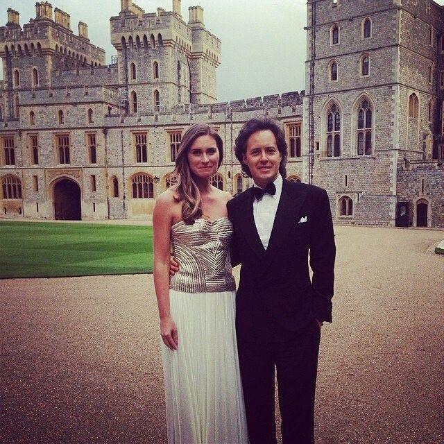 ac194678c Lauren Bush and David Lauren at Windsor Castle with Ralph Lauren and Prince  William to benefit Royal Marsden