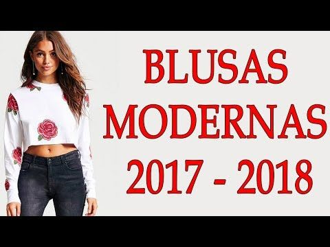 3304906e41 BLUSAS DE MODA Y TENDENCIA 2018!!! BLUSAS DE HOMBROS DESCUBIERTOS DE MODA  2017
