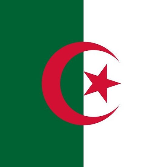 Algeria Flag Sticker