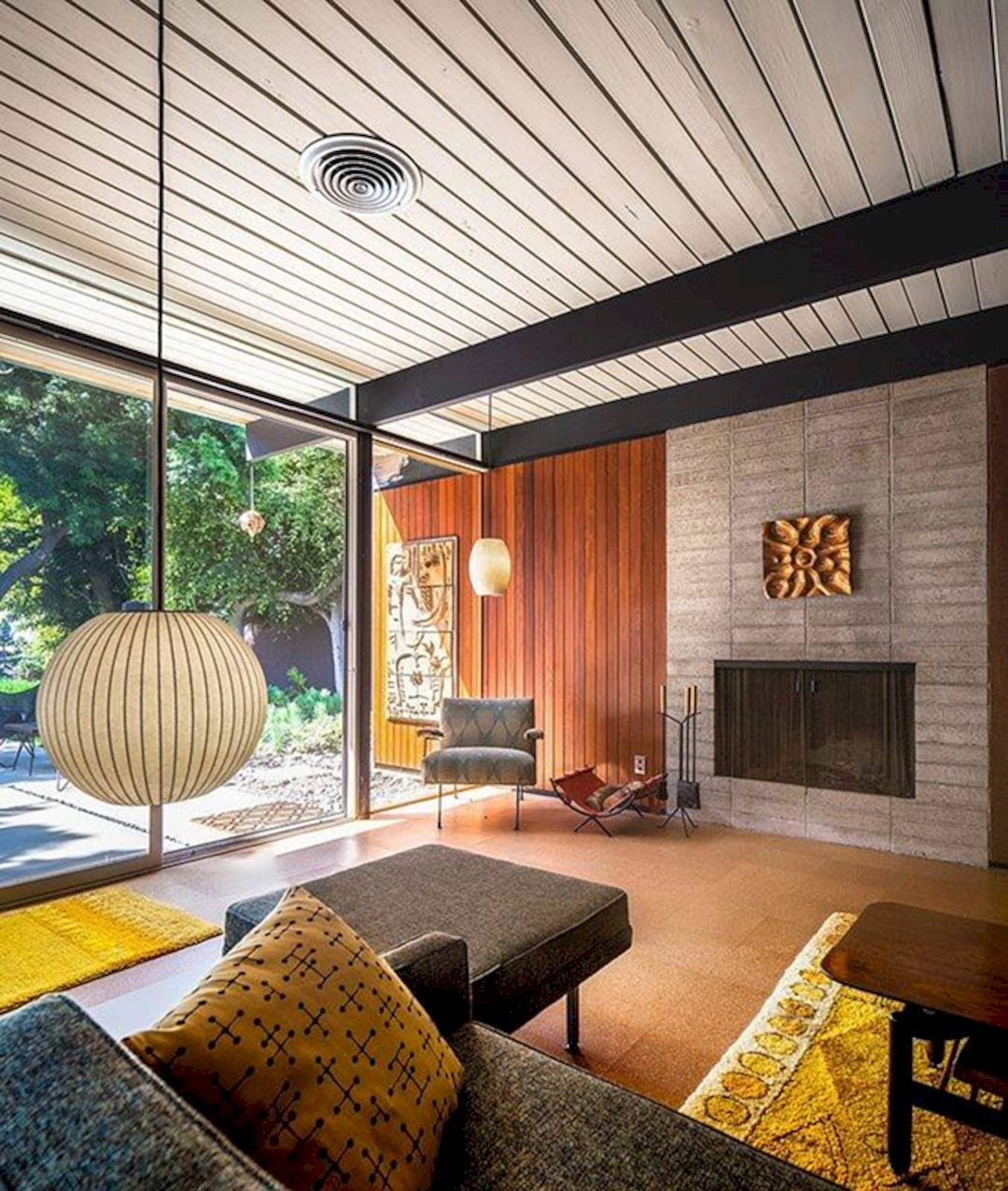 5 Awesome Modern Interior Design Ideas Mid Century House Mid Century Modern House Mid Century Modern Living