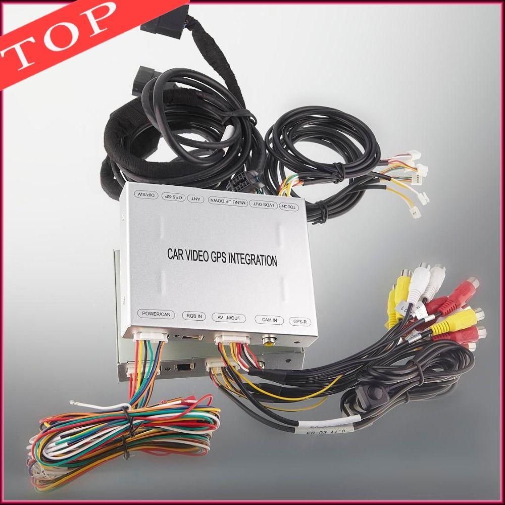 In Car Multimedia Gps Navigation Interface Rear View Mirror Camera