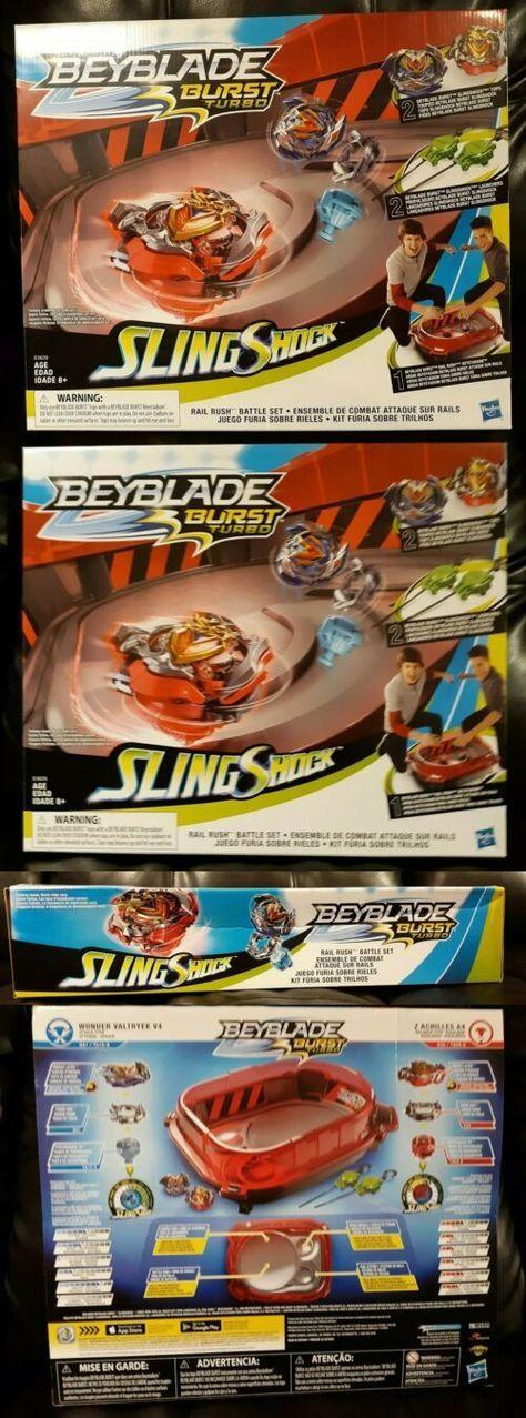 Other Games 234 Beyblade Burst Turbo Slingshock Rail Rush