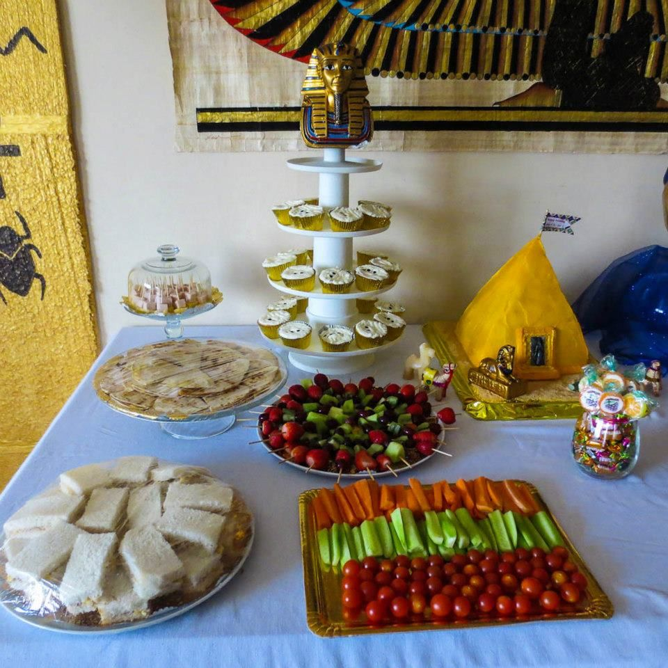 Egyptian Pharaos Birthday Party
