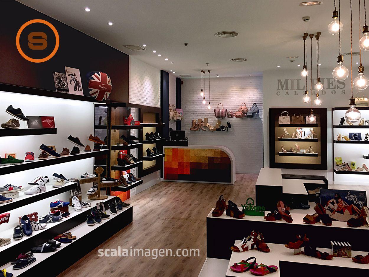 Dise O Integral De Local Comercial Proyecto Mil Pies Calzados  # Muebles Boutique Srl