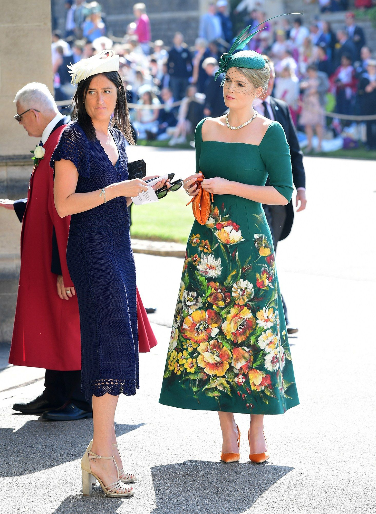 The Royal Wedding Dresses Hats And More Royal Wedding Guests Outfits Wedding Guest Outfit Guest Outfit [ 2000 x 1465 Pixel ]