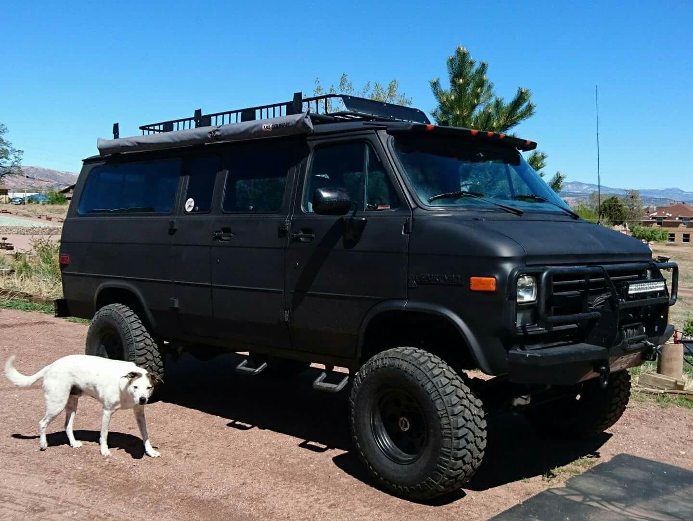 Koni Koniimproved Koniexperience Lifted Van Gmc Vans Chevrolet Van