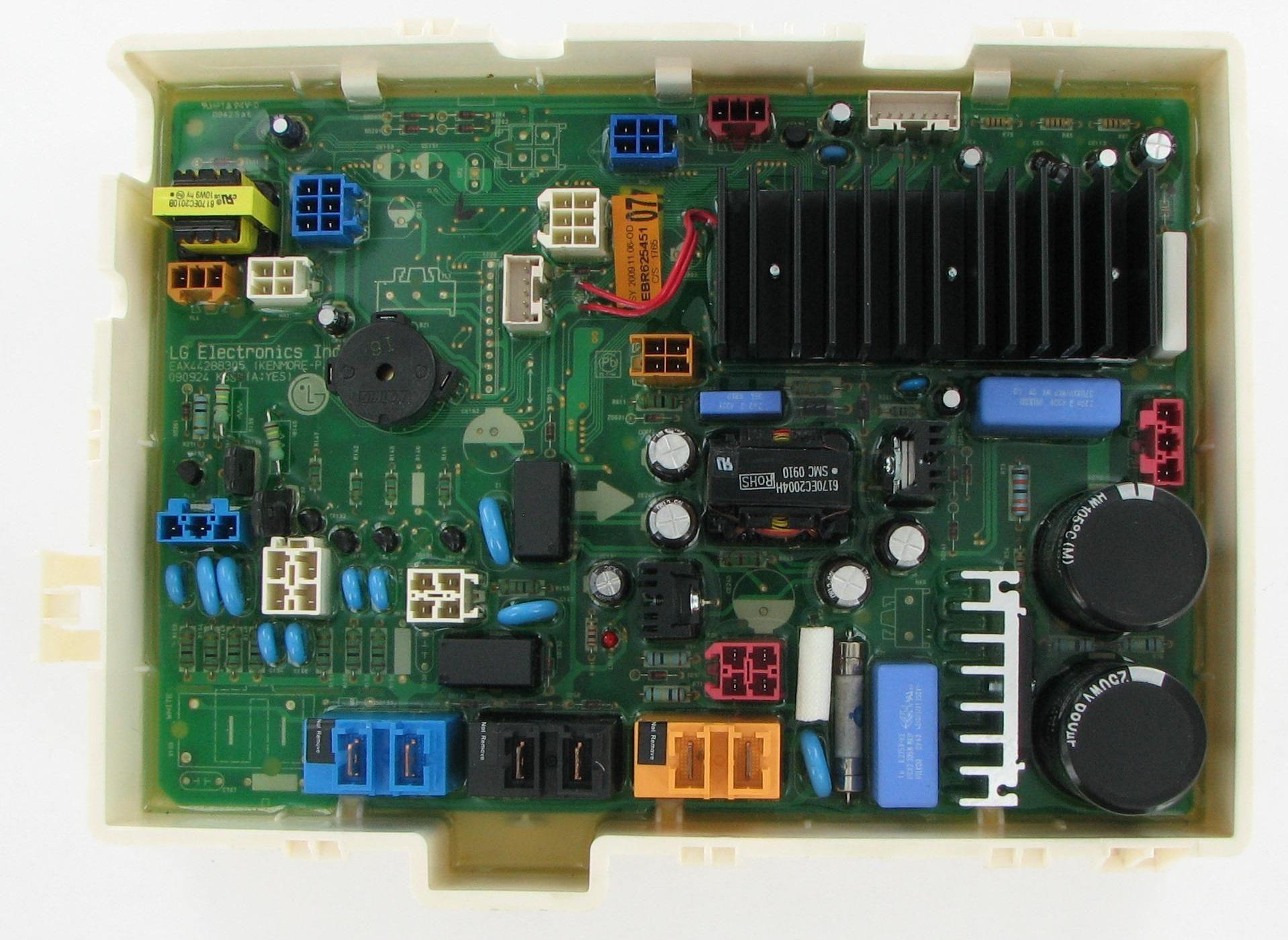 Lg ebr laundry washer electronic control board control